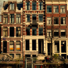 amsterdam, boat with house 1890