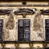 old venetian blind