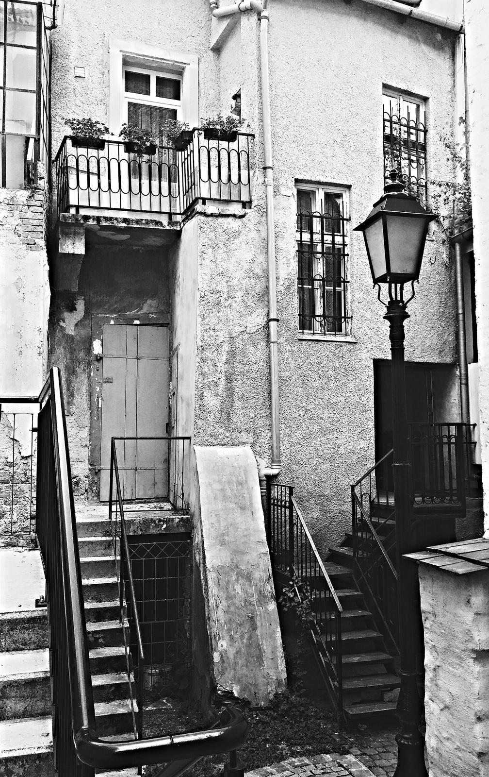 Soproni utcák